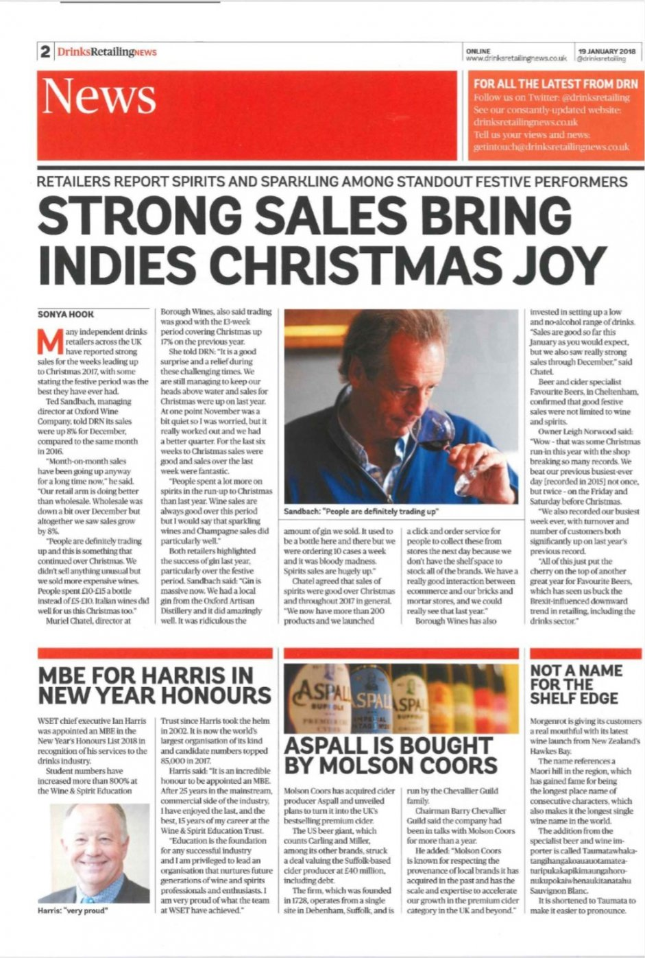 Strong Sales Bring Indies Christmas Joy